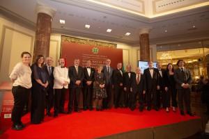 Premiados junto a la ministra de Sanidad y el presidente del Consejo de ...