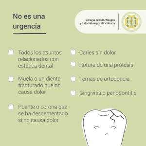no-es-urgencias dental icoev