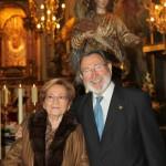 Dr Juan Mtnez Minana y esposa