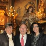 Dr Pascual Mtnez MInana con esposa e hija